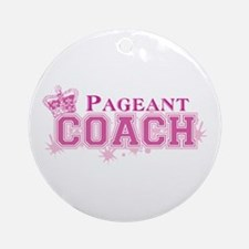 Pageant Coach Ornament (Round)
