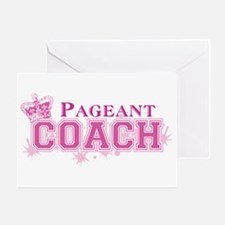 Pageant Coach Greeting Card