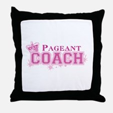 Pageant Coach Throw Pillow