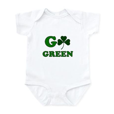 Go Green Shamrock Infant Bodysuit