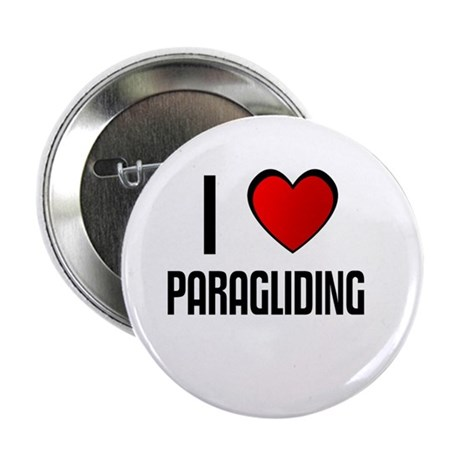 """I LOVE PARAGLIDING 2.25"""" Button (100 pack)"""