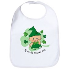 Plaid Boy 1st St. Pat's Bib
