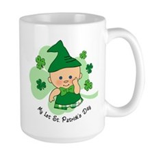 Plaid Boy 1st St. Pat's Mug
