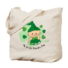 Plaid Boy 1st St. Pat's Tote Bag