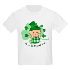 Plaid Girl 1st St. Pat's T-Shirt