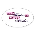 Working Mother Sticker (Oval 10 pk)