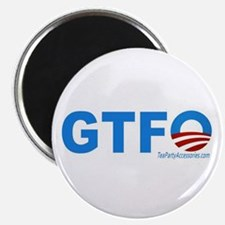 "GTFO 2.25"" Magnet (100 pack)"