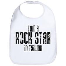 Rock Star In Taiwan Bib