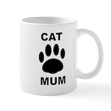 Cat Mum Small Mug