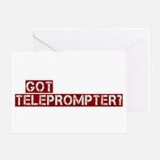 got teleprompter? Greeting Card