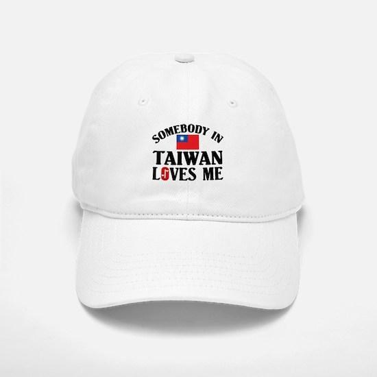 Somebody In Taiwan Baseball Baseball Cap