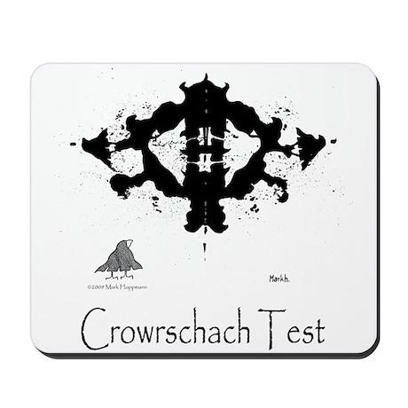 Crowrschach Test Mousepad