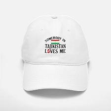 Somebody In Tajikistan Baseball Baseball Cap