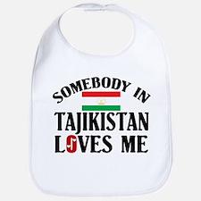 Somebody In Tajikistan Bib
