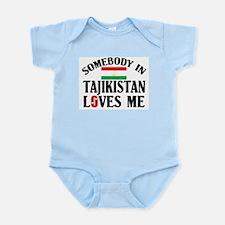 Somebody In Tajikistan Infant Creeper