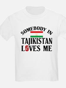 Somebody In Tajikistan Kids T-Shirt