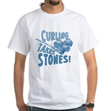Curling Takes Stones Shirt