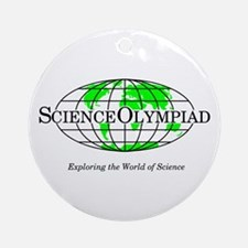 Science Olympiad Ornament (Round)