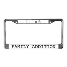 Family Addition License Plate Frame 6