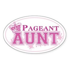 Pageant Aunt Decal