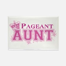 Pageant Aunt Rectangle Magnet