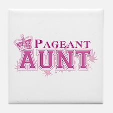 Pageant Aunt Tile Coaster