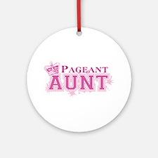 Pageant Aunt Ornament (Round)