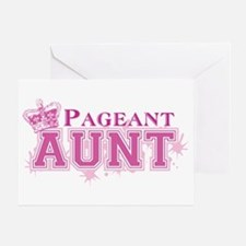 Pageant Aunt Greeting Card