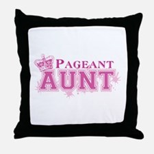 Pageant Aunt Throw Pillow