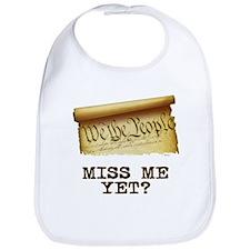 Miss Me Yet - Constitution Bib