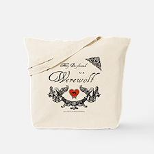 Biyfriend Werewolf Heart Tote Bag