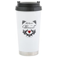 Biyfriend Werewolf Heart Travel Mug