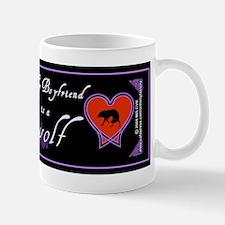 Biyfriend Werewolf Heart Mug