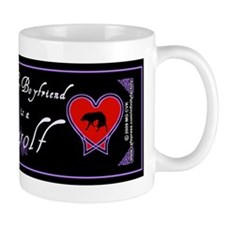 Biyfriend Werewolf Heart Small Mugs