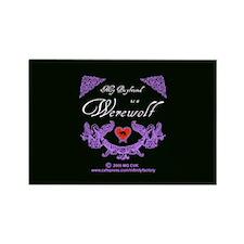 Biyfriend Werewolf Heart Rectangle Magnet (10 pack