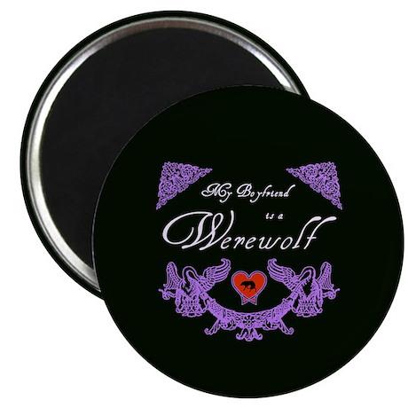 """Biyfriend Werewolf Heart 2.25"""" Magnet (10 pack)"""
