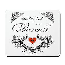 Biyfriend Werewolf Heart Mousepad