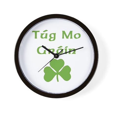 Tug Mo Groin Wall Clock