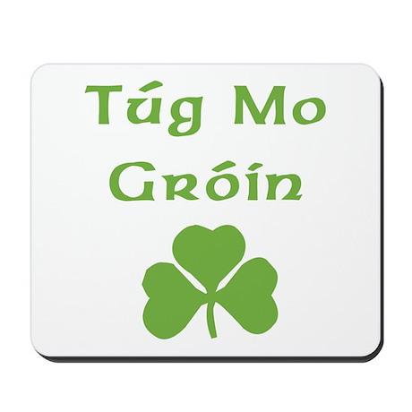 Tug Mo Groin Mousepad