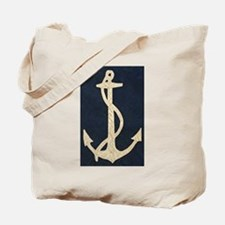 Old Flag Anchor Tote Bag