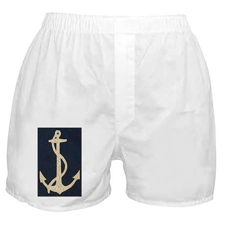 Old Flag Anchor Boxer Shorts