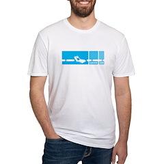 Mod Blue Shirt
