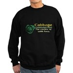 Funny Cabbage Irish Sweatshirt (dark)