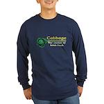 Funny Cabbage Irish Long Sleeve Dark T-Shirt