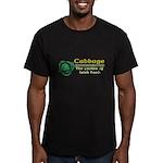 Funny Cabbage Irish Men's Fitted T-Shirt (dark)