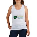 Funny Cabbage Irish Women's Tank Top