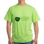Funny Cabbage Irish Green T-Shirt