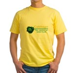 Funny Cabbage Irish Yellow T-Shirt