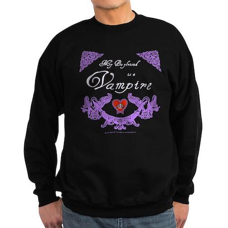 Boyfriend Vampire Heart Sweatshirt (dark)