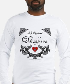 Boyfriend Vampire Heart Long Sleeve T-Shirt